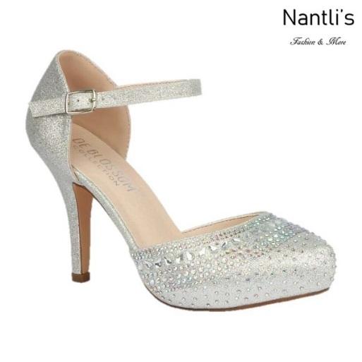 BL-Robin-266 Silver Zapatos de Mujer elegantes Tacon medio Mayoreo Wholesale Womens Mid-Heels Fancy Shoes Nantlis