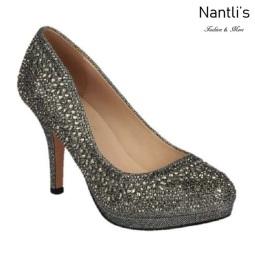BL-Robin-267 Pewter Zapatos de Mujer elegantes Tacon medio Mayoreo Wholesale Womens Mid-Heels Fancy Shoes Nantlis