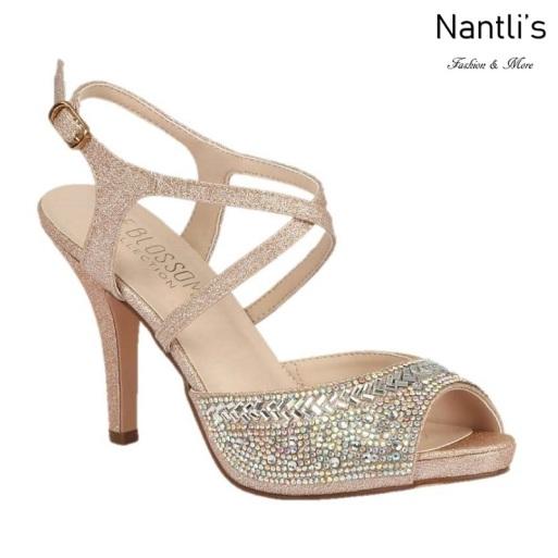 BL-Robin-349 Nude Zapatos de Mujer elegantes Tacon medio Mayoreo Wholesale Womens Mid-Heels Fancy Shoes Nantlis