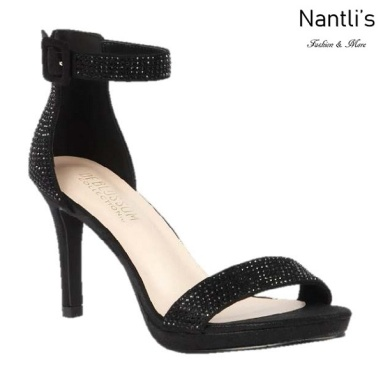 BL-Rosie-14 Black Zapatos de Mujer elegantes Tacon medio Mayoreo Wholesale Womens Mid-Heels Fancy Shoes Nantlis