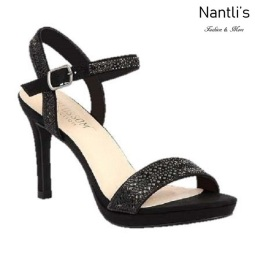 BL-Rosie-25 Black Zapatos de Mujer elegantes Tacon medio Mayoreo Wholesale Womens Mid-Heels Fancy Shoes Nantlis