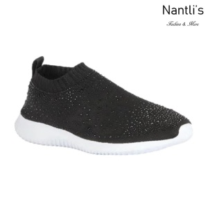 BL-Serena-10 Black Zapatos tennis de Mujer Mayoreo Wholesale Women sneakers Shoes Nantlis