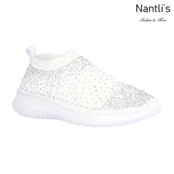 BL-Serena-10 White Zapatos tennis de Mujer Mayoreo Wholesale Women sneakers Shoes Nantlis