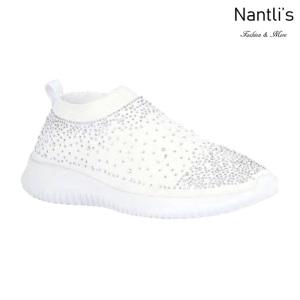 BL-Serena-10 White Zapatos tennis de Mujer Mayoreo Wholesale Women sneakers Shoes Nantlis