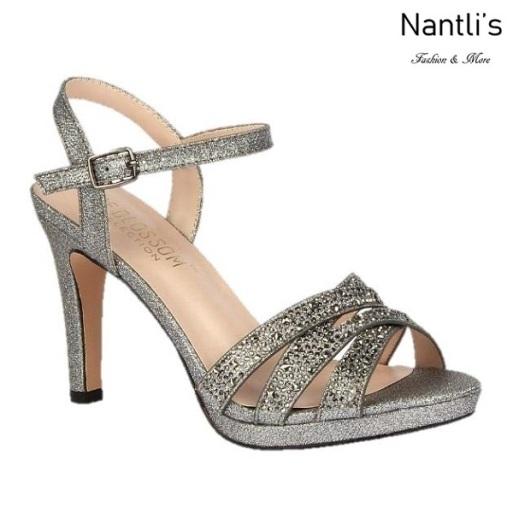 BL-Taylor-14 Pewter Zapatos de Mujer elegantes Tacon medio Mayoreo Wholesale Womens Mid-Heels Fancy Shoes Nantlis
