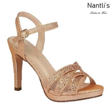 BL-Taylor-14 Rose Gold Zapatos de Mujer elegantes Tacon medio Mayoreo Wholesale Womens Mid-Heels Fancy Shoes Nantlis