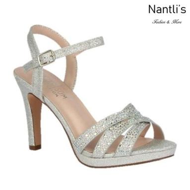 BL-Taylor-14 Silver Zapatos de Mujer elegantes Tacon medio Mayoreo Wholesale Womens Mid-Heels Fancy Shoes Nantlis