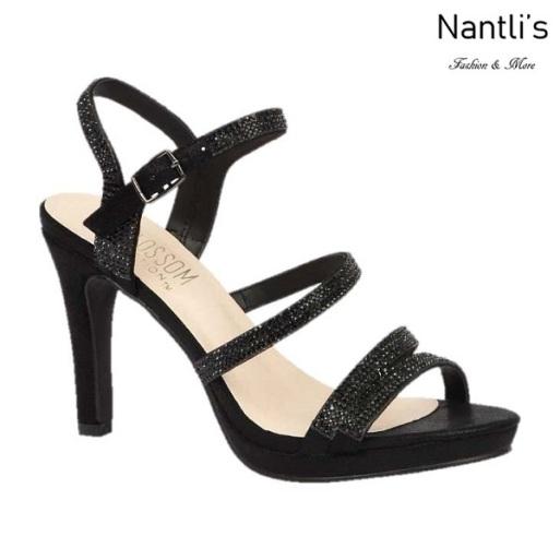 BL-Taylor-17 Black Zapatos de Mujer elegantes Tacon medio Mayoreo Wholesale Womens Mid-Heels Fancy Shoes Nantlis