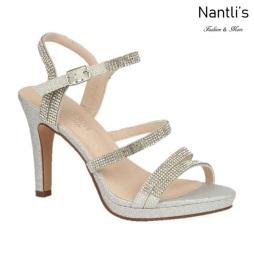 BL-Taylor-17 Silver Zapatos de Mujer elegantes Tacon medio Mayoreo Wholesale Womens Mid-Heels Fancy Shoes Nantlis