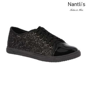BL-Tennis-6 Black Zapatos tennis de Mujer Mayoreo Wholesale Women sneakers Shoes Nantlis
