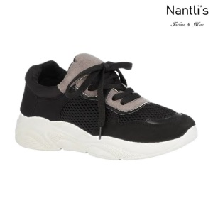 BL-Tonya-19 Black Zapatos tennis de Mujer Mayoreo Wholesale Women sneakers Shoes Nantlis