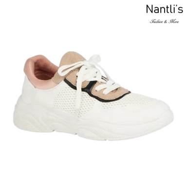 BL-Tonya-19 White Zapatos tennis de Mujer Mayoreo Wholesale Women sneakers Shoes Nantlis