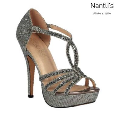 BL-Vice-283 Pewter Zapatos de Mujer elegantes Tacon Alto Mayoreo Wholesale Womens Hi-Heels Fancy Shoes Nantlis