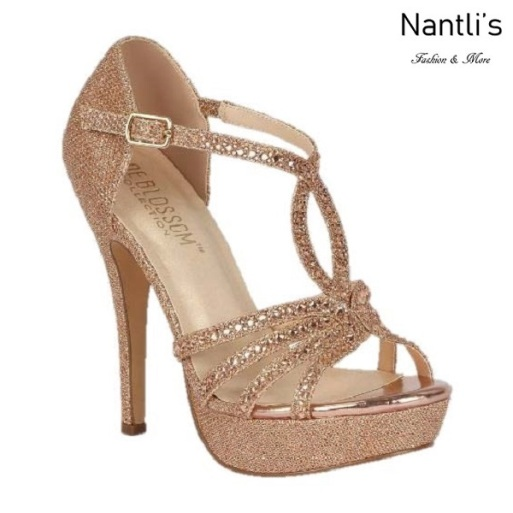 BL-Vice-283 Rose Gold Zapatos de Mujer elegantes Tacon Alto Mayoreo Wholesale Womens Hi-Heels Fancy Shoes Nantlis