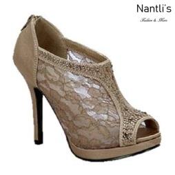 BL-Yael-9 Brown Zapatos de Mujer elegantes Tacon medio Mayoreo Wholesale Womens Mid-Heels Fancy Shoes Nantlis