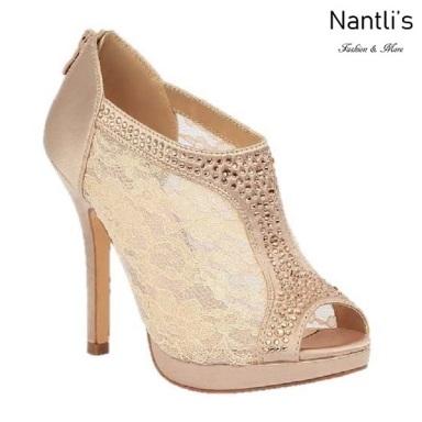 BL-Yael-9 Nude Zapatos de Mujer elegantes Tacon medio Mayoreo Wholesale Womens Mid-Heels Fancy Shoes Nantlis