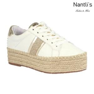 BL-Yolanda-11 White Zapatos tennis de Mujer Mayoreo Wholesale Women sneakers Shoes Nantlis
