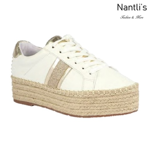 BL-Yolanda-11 White Zapatos tennis de Mujer Mayoreo Wholesale Women sneakers Shoes Nantlis