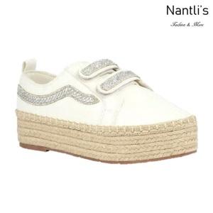 BL-Yolanda-12 White Zapatos tennis de Mujer Mayoreo Wholesale Women sneakers Shoes Nantlis