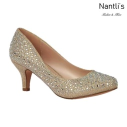 BL-Bertha-9 Nude Zapatos de Mujer elegantes Tacon bajo Mayoreo Wholesale Womens Low-Heels Fancy Shoes Nantlis