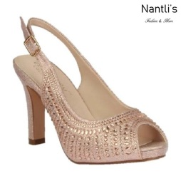 BL-Jonny-22 Rose Gold Zapatos de Mujer elegantes Tacon bajo Mayoreo Wholesale Womens Low-Heels Fancy Shoes Nantlis