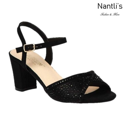 BL-Lennie-22 Black Zapatos de Mujer elegantes Tacon bajo Mayoreo Wholesale Womens Low-Heels Fancy Shoes Nantlis