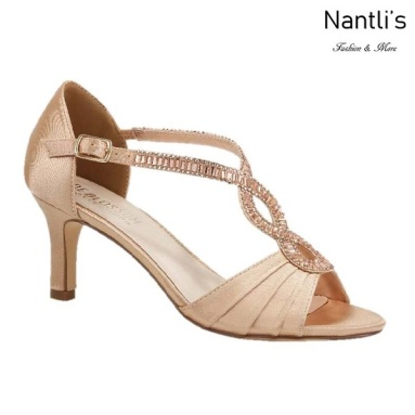 BL-Valerie-10 Rose Gold Zapatos de Mujer elegantes Tacon bajo Mayoreo Wholesale Womens Low-Heels Fancy Shoes Nantlis