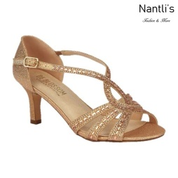 BL-Valerie-3 Rose Gold Zapatos de Mujer elegantes Tacon bajo Mayoreo Wholesale Womens Low-Heels Fancy Shoes Nantlis