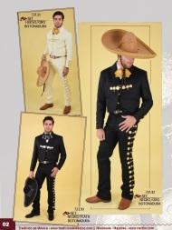 Tradicion de Mexico Vol 21 Ropa Bordada Trajes de Charro Catalogo Nantlis Page 02