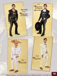 Tradicion de Mexico Vol 21 Ropa Bordada Trajes de Charro Catalogo Nantlis Page 03