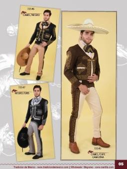 Tradicion de Mexico Vol 21 Ropa Bordada Trajes de Charro Catalogo Nantlis Page 05