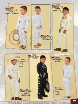 Tradicion de Mexico Vol 21 Ropa Bordada Trajes de Charro Catalogo Nantlis Page 07