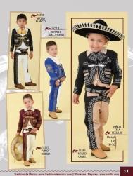 Tradicion de Mexico Vol 21 Ropa Bordada Trajes de Charro Catalogo Nantlis Page 11