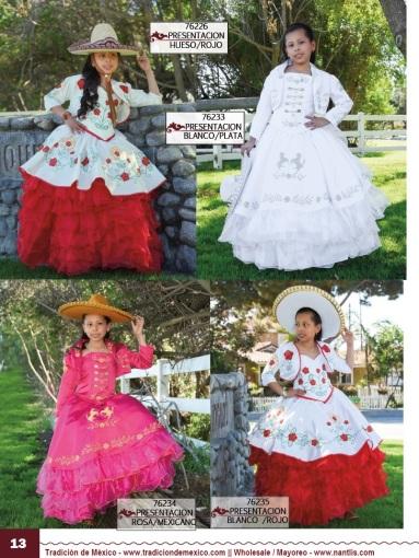 Tradicion de Mexico Vol 21 Ropa Bordada Trajes de Charro Catalogo Nantlis Page 13