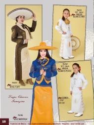 Tradicion de Mexico Vol 21 Ropa Bordada Trajes de Charro Catalogo Nantlis Page 15