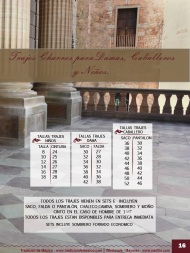 Tradicion de Mexico Vol 21 Ropa Bordada Trajes de Charro Catalogo Nantlis Page 16