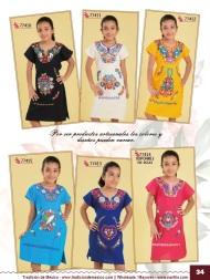 Tradicion de Mexico Vol 21 Ropa Bordada Trajes de Charro Catalogo Nantlis Page 34