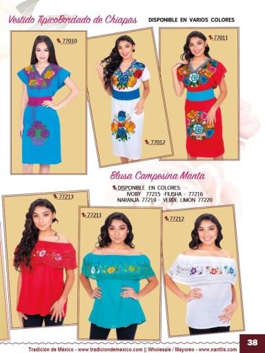 Tradicion de Mexico Vol 21 Ropa Bordada Trajes de Charro Catalogo Nantlis Page 38