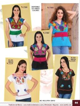 Tradicion de Mexico Vol 21 Ropa Bordada Trajes de Charro Catalogo Nantlis Page 44