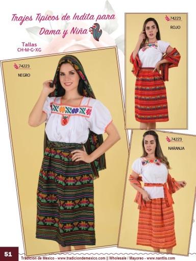 Tradicion de Mexico Vol 21 Ropa Bordada Trajes de Charro Catalogo Nantlis Page 51