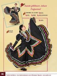 Tradicion de Mexico Vol 21 Ropa Bordada Trajes de Charro Catalogo Nantlis Page 55