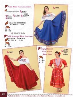 Tradicion de Mexico Vol 21 Ropa Bordada Trajes de Charro Catalogo Nantlis Page 57