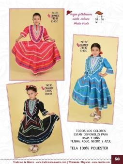 Tradicion de Mexico Vol 21 Ropa Bordada Trajes de Charro Catalogo Nantlis Page 58