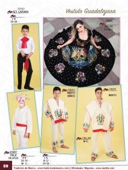 Tradicion de Mexico Vol 21 Ropa Bordada Trajes de Charro Catalogo Nantlis Page 59
