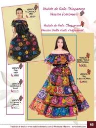 Tradicion de Mexico Vol 21 Ropa Bordada Trajes de Charro Catalogo Nantlis Page 62