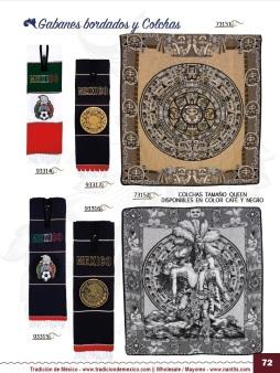 Tradicion de Mexico Vol 21 Ropa Bordada Trajes de Charro Catalogo Nantlis Page 72