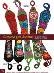 Tradicion de Mexico Vol 21 Ropa Bordada Trajes de Charro Catalogo Nantlis Page 74
