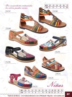 Tradicion de Mexico Vol 22 Zapatos Artesanales Huaraches Cintos Cartera Nantlis Pag 07