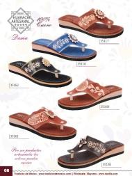 Tradicion de Mexico Vol 22 Zapatos Artesanales Huaraches Cintos Cartera Nantlis Pag 08