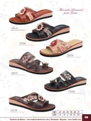 Tradicion de Mexico Vol 22 Zapatos Artesanales Huaraches Cintos Cartera Nantlis Pag 09